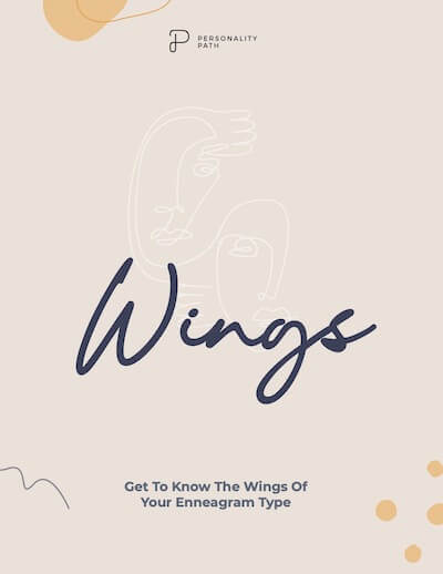 Cover of free PDF for wings of Enneagram Type 7: Enneagram 7w6 and Enneagram 7w8